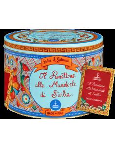 Panettone Gourmet - Dolce & Gabbana Panettone alle Mandorle di Sicilia (1 Kg.) - Fiasconaro - Fiasconaro - 1