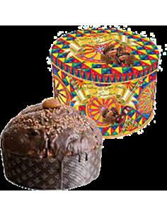 Panettone Gourmet - Dolce & Gabbana Glazed Chestnuts and Gianduia Panettone (1 Kg.) - Fiasconaro - Fiasconaro - 2