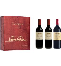 Red Wines - Tancredi The Great Vintages 2003 - 2008 - 2011 Wooden box with 3 bottles (3x750 ml.) - Donnafugata - Donnafugata - 1