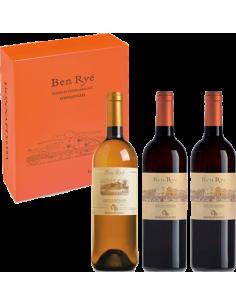 Passito - Ben Rye' Le Grandi Annate 2006 - 2010 - 2013 Cassetta in Legno da 3 bottiglie (3x750 ml.)  - Donnafugata - Donnafugata