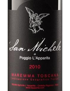 Maremma Toscana Rosso IGT 'San Michele' 2010 - Poggio L'Apparita