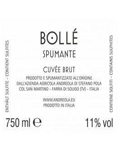 Vini Spumanti - Spumante Cuvée Brut Bollé - Andreola - Andreola - 2