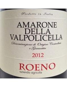 Vini Rossi - Amarone della Valpolicella DOCG 2012 (750 ml.) - Roeno -  - 2