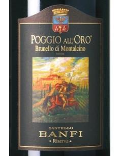 Red Wines - Brunello di Montalcino DOCG Riserva 'Poggio all'Oro' 2012 (750 ml.) - Castello Banfi - Castello Banfi - 2