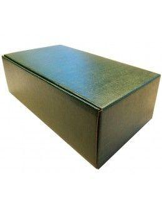 Gift Boxes - 2 Bottles Green Horizontal Wine Box - Vino45 - 1