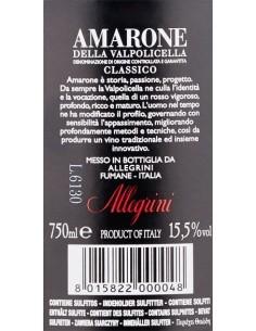 Vini Rossi - Amarone della Valpolicella Classico DOCG 2012 - Allegrini - Allegrini - 3
