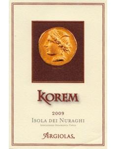 Vini Rossi - Isola dei Nuraghi Rosso IGT 'Korem' 2013 - Argiolas -  - 2