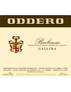 Vini Rossi - Barbaresco DOCG 'Gallina' 2013 (750 ml.) - Oddero - Oddero - 2