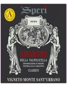 Vini Rossi - Amarone della Valpolicella Classico DOCG 'Vigneto Monte Sant'Urbano' 2012 - Speri - Speri - 2