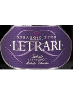 Vini Spumanti - Trento DOC 'Dosaggio Zero' Riserva 2010 - Letrari - Letrari - 2