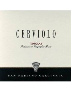 Toscana Rosso IGT 'Cerviolo' 2010 - San Fabiano Calcinaia