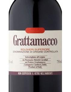 Vini Rossi - Bolgheri Rosso Superiore DOC 2004 - Grattamacco - Grattamacco - 2