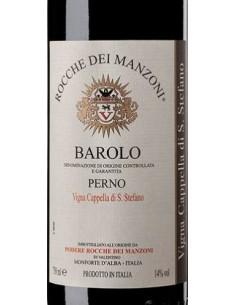 Vini Rossi - Barolo DOCG Perno 'Vigna Cappella di Santo Stefano' 2012 (750 ml.) - Rocche dei Manzoni - Rocche dei Manzoni - 2