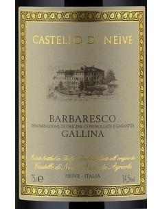 Vini Rossi - Barbaresco DOCG 'Gallina' 2013 (750 ml.) - Castello di Neive -  - 2