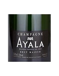 Champagne Blanc de Noirs - Champagne 'Brut Majeur' (750ml. astuccio) - Ayala -  - 3