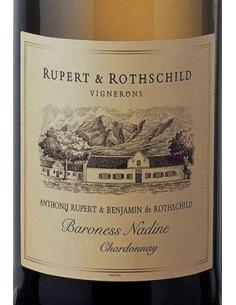 Vini Bianchi - South Africa Western Cape Chardonnay 'Baroness Nadine' 2015 (750 ml.) - Rupert & Rotschild Vignerons - Rupert & R