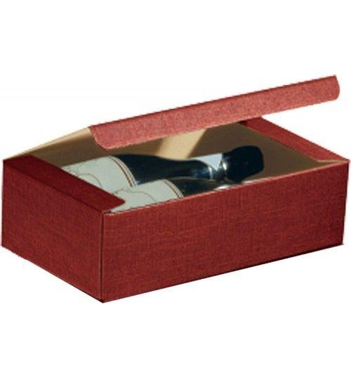 3 Bottles Horizontal Bordeaux Wine Box