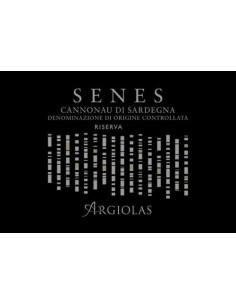 Vini Rossi - Cannonau di Sardegna DOC Riserva 'Senes' 2013 (750 ml.) - Argiolas - Argiolas - 2