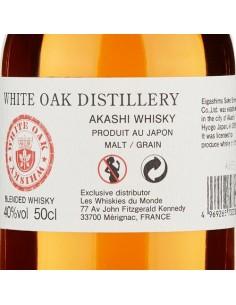 Whisky Blended - Blended Japanese Whisky (500 ml.) - White Oak Distillery - Akashi - Akashi - 4