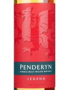 Whiskey Single Malt - Single Malt Welsh Whisky 'Legend' (700 ml. boxed) - Penderyn - Penderyn - 3