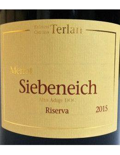 Vini Rossi - Alto Adige Merlot DOC Riserva 'Siebeneich' 2015 (750 ml.) - Terlano - Terlan - 2