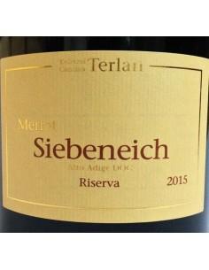 Alto Adige Merlot DOC Riserva Siebeneich 2015 - Terlano