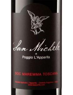 Vini Rossi - Maremma Toscana Rosso DOC 'San Michele' 2012 (750 ml.) - Poggio L'Apparita - Poggio l'Apparita - 2