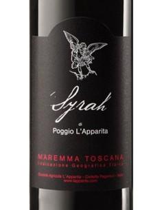 Red Wines - Maremma Toscana Rosso DOC 'Syrah' 2012 (750 ml.) - Poggio L'Apparita - Poggio l'Apparita - 2