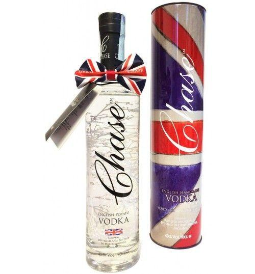 English Potato Vodka Single Estate (boxed 700 ml.) - Chase Distillery