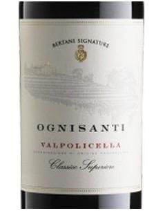Vini Rossi - Valpolicella Classico Superiore DOC 'Ognisanti' 2014 (750 ml.) - Bertani - Bertani - 2