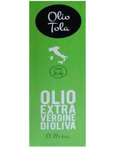 Olio Extravergine di Oliva - Olio Extra Vergine di Oliva DOP (750 ml) 2018 - Olio Tola - Olio Tola - 2