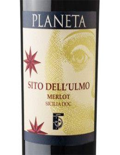 Vini Rossi - Sicilia Merlot DOC 'Sito dell'Ulmo' 2013 (750 ml.) - Planeta - Planeta - 2