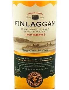 Whisky Torbato - Single Malt Scotch Whisky Finlaggan 'Old Reserve' (700 ml. astuccio) - The Vintage Malt Whisky Company - Finlag