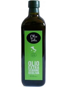 Olio Extra Vergine di Oliva DOP (750 ml) 2018 - Olio Tola
