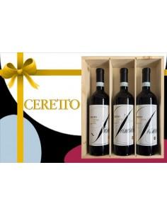 Vini Rossi - Cassetta Regalo Degustazione '3 Rossi d'Alba' (3x750 ml.) - Ceretto - Ceretto - 1