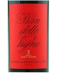 Vini Rossi - Rosso di Montalcino DOC Tenuta 'Pian delle Vigne' 2015 (750 ml.) - Antinori - Antinori - 2