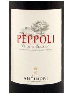 Vini Rossi - Chianti Classico DOCG Tenuta 'Peppoli' 2016 - Antinori - Antinori - 2