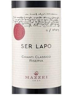 Vini Rossi - Chianti Classico Riserva DOCG 'Ser Lapo' 2015 (750 ml.) - Mazzei - Mazzei - 2