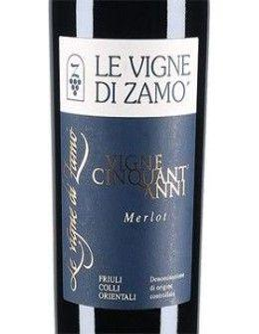 Vini Rossi - Colli Orientali del Friuli Merlot DOC 'Vigne 50 Anni' 2013 (750 ml.) - Le Vigne di Zamo' - Le Vigne di Zamo' - 2