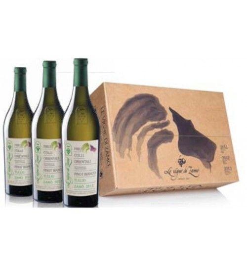 Pinot Blanche 'Tullio Zamo' Collection' Limited Edition 2011 - 2012 - 2013 (3x750ml.) - Le Vigne di Zamo'