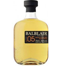 Highland Single Malt Scotch Whisky 'Balblair' 2005 (700 ml.) - Balblair