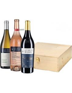 Tasting Box 'Le Vigne' - Le Vigne di Zamò (wood box)
