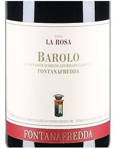 Barolo DOCG 'Vigna La Rosa' 2013 - Fontanafredda