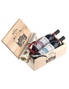 Degustazione 'Vini Fini Piemontesi' Nebbiolo & Dolcetto - Casa E. di Mirafiore (cassetta in legno)