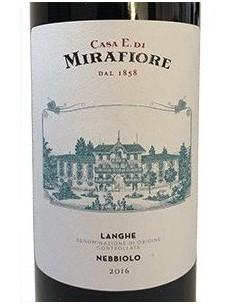 Nebbiolo e Dolcetto 'Degustazione Vini Fini Piemontesi' - Casa E. di Mirafiore (cassetta regalo in legno)