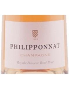 Champagne Blanc de Noirs - Champagne Brut 'Royale Reserve Rose' (750 ml. boxed) - Philipponnat - Philipponnat - 3