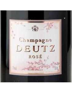 Champagne Blanc de Noirs - Champagne Brut Rose' 'Sakura' (750 ml. astuccio) - Deutz - Deutz - 3