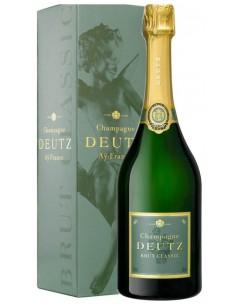 Champagne Blanc de Noirs - Champagne Brut Classic (750 ml. astuccio) - Deutz - Deutz - 1