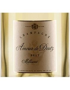 Champagne Blanc de Blancs - Champagne 'Amour de Deutz' 2009 (750 ml. gift box set) - Deutz - Deutz - 3