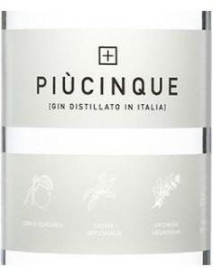 Gin - Gin 'Piu' Cinque' (700 ml.) - Three Spirits - Three Spirits - 2